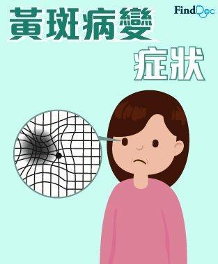 黃斑病變 (Macular Diseases) 症狀