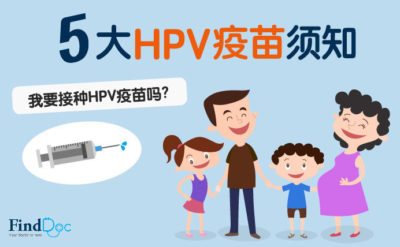 HPV疫苗 (子宫颈癌疫苗)