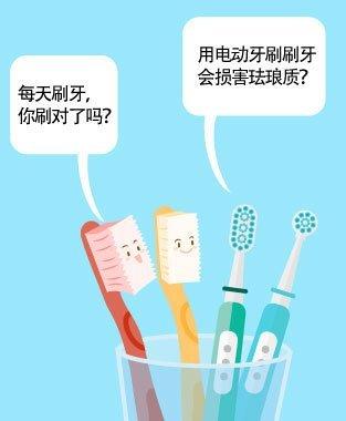 电动牙刷 vs 手动牙刷 迷思
