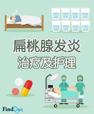扁桃腺发炎 治疗及护理