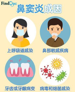 鼻窦炎 成因