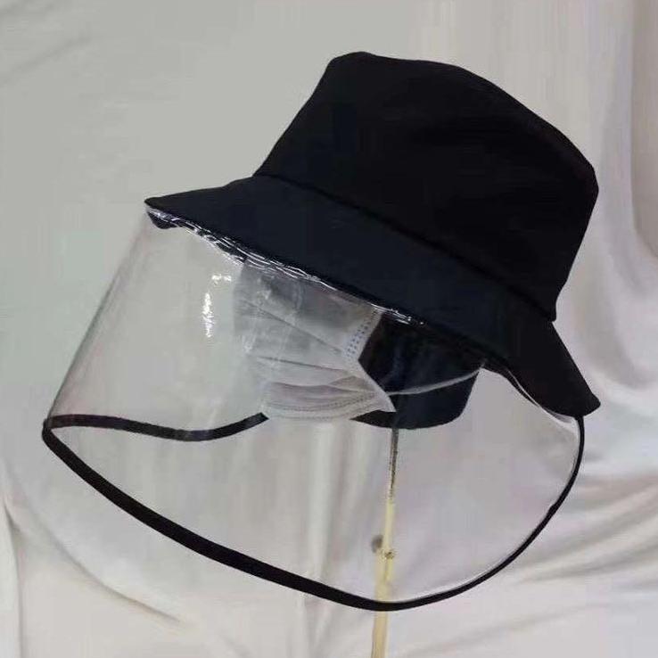 聲稱防飛沫的漁夫帽