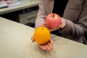 一份水果相當於一個女性拳頭大小的蘋果或橙
